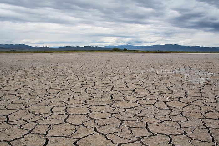 Harrence Soil Craking - Russell Lakes