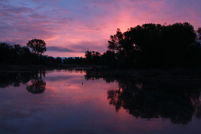 Sunrise: Rio Grande SWA