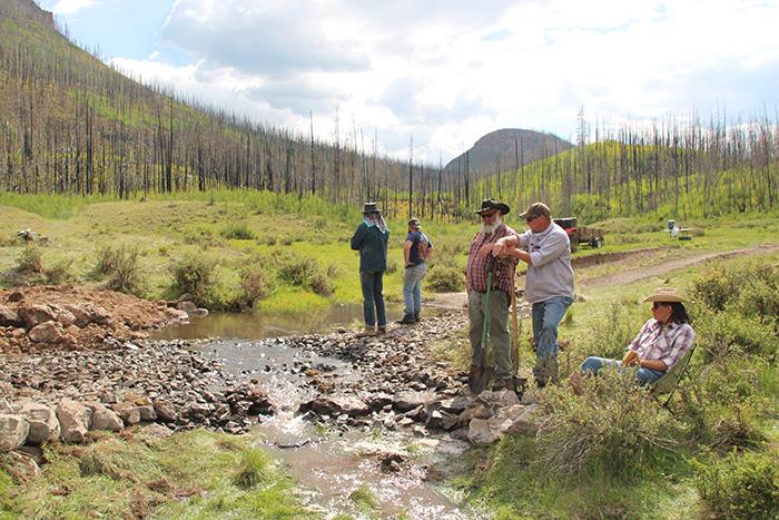 Low Water Crossing -- Watching Water Flow